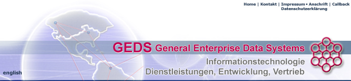 GEDS General Enterprise Data Systems